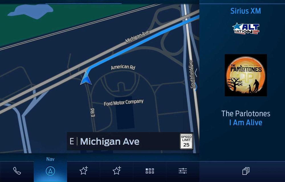 Ford anunță un nou sistem de infotainment: SYNC 4 va fi integrat pe ecrane de până la 15.5 inch și va oferi răspunsuri personalizate în funcție de obiceiurile fiecărui șofer - Poza 1