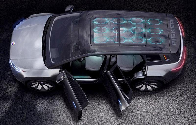 Primele imagini cu conceptul viitorul SUV Fisker Ocean: prototipul electric va fi expus în luna ianuarie, iar modelul de serie va oferi o autonomie de peste 480 de kilometri - Poza 3