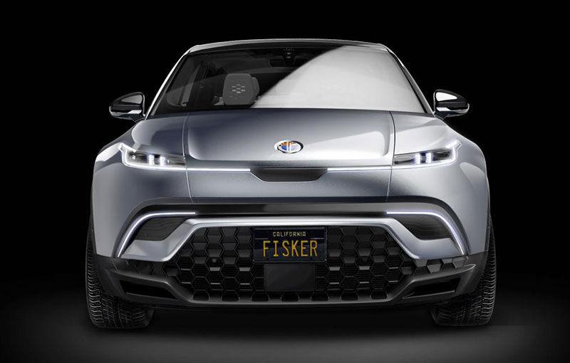 Primele imagini cu conceptul viitorul SUV Fisker Ocean: prototipul electric va fi expus în luna ianuarie, iar modelul de serie va oferi o autonomie de peste 480 de kilometri - Poza 1