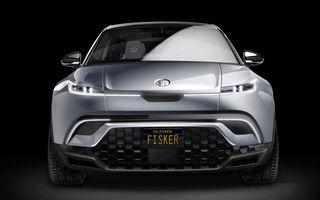 Primele imagini cu conceptul viitorul SUV Fisker Ocean: prototipul electric va fi expus în luna ianuarie, iar modelul de serie va oferi o autonomie de peste 480 de kilometri
