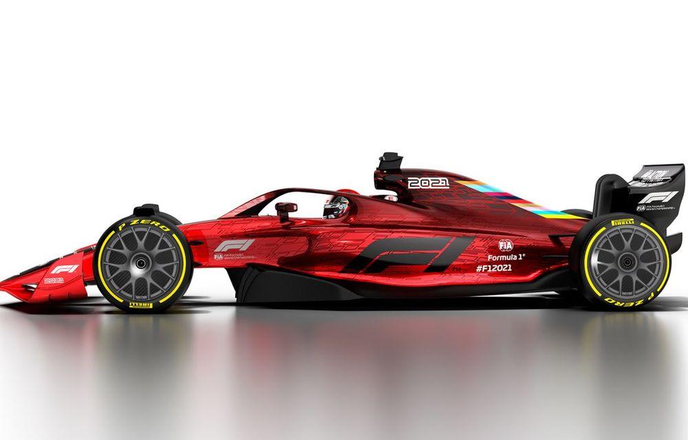 Formula 1 prezintă designul monoposturilor pentru sezonul 2021: noutățile tehnice vor asigura mai multe dueluri pe circuit - Poza 6