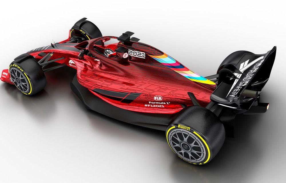 Formula 1 prezintă designul monoposturilor pentru sezonul 2021: noutățile tehnice vor asigura mai multe dueluri pe circuit - Poza 4