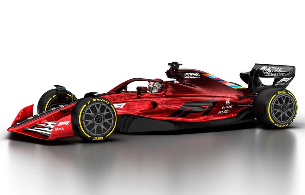 Formula 1 prezintă designul monoposturilor pentru sezonul 2021: noutățile tehnice vor asigura mai multe dueluri pe circuit - Poza 1
