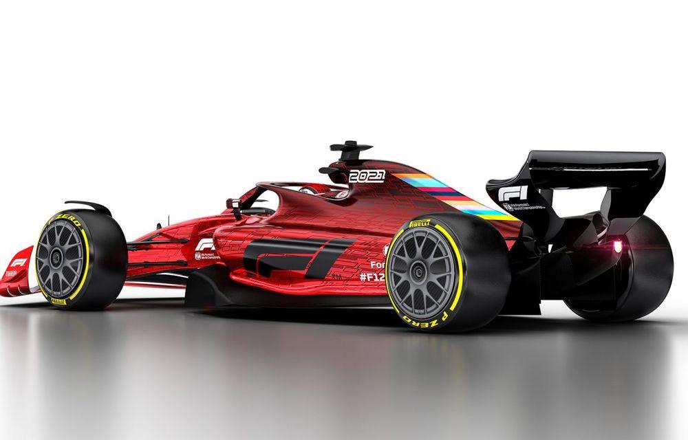 Formula 1 prezintă designul monoposturilor pentru sezonul 2021: noutățile tehnice vor asigura mai multe dueluri pe circuit - Poza 5