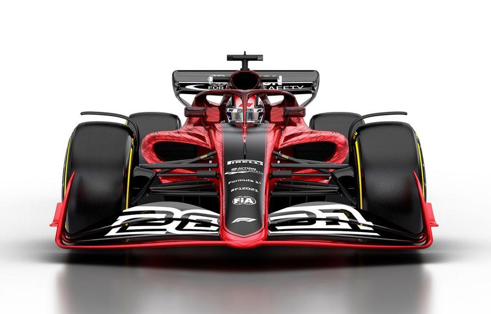 Formula 1 prezintă designul monoposturilor pentru sezonul 2021: noutățile tehnice vor asigura mai multe dueluri pe circuit - Poza 3