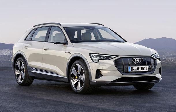 SUV-ul electric Audi e-tron, cea mai vândută mașină în Norvegia în luna octombrie - Poza 1