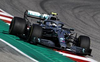 Bottas va pleca din pole position în cursa din Statele Unite! Hamilton, doar locul 5