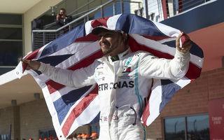 Bottas a câștigat cursa din Statele Unite! Hamilton a devenit campion mondial pentru a șasea oară