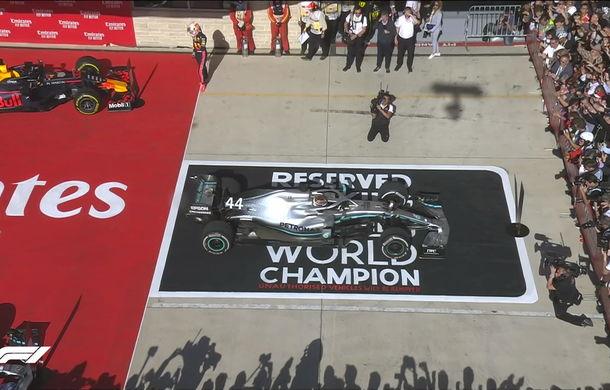 Bottas a câștigat cursa din Statele Unite! Hamilton a devenit campion mondial pentru a șasea oară - Poza 5