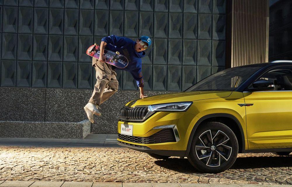 Skoda a lansat Kamiq GT: noul SUV-ul coupe va fi disponibil doar pe piața din China - Poza 13