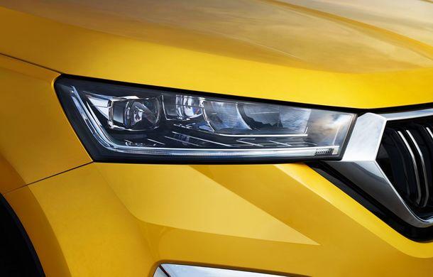 Skoda a lansat Kamiq GT: noul SUV-ul coupe va fi disponibil doar pe piața din China - Poza 16
