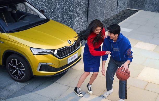 Skoda a lansat Kamiq GT: noul SUV-ul coupe va fi disponibil doar pe piața din China - Poza 11