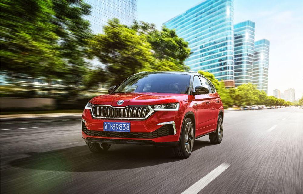 Skoda a lansat Kamiq GT: noul SUV-ul coupe va fi disponibil doar pe piața din China - Poza 2
