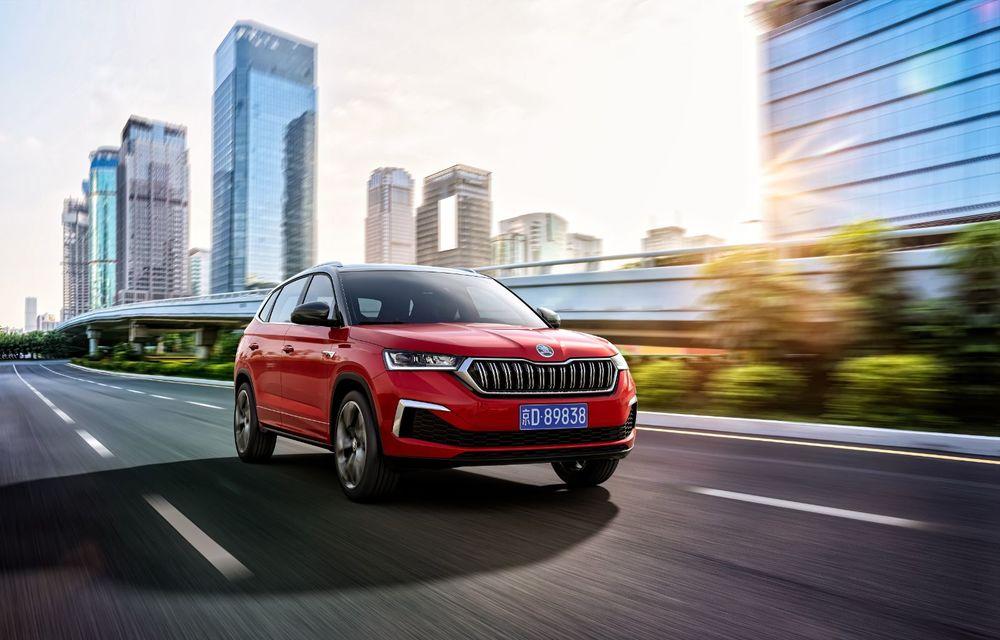 Skoda a lansat Kamiq GT: noul SUV-ul coupe va fi disponibil doar pe piața din China - Poza 4