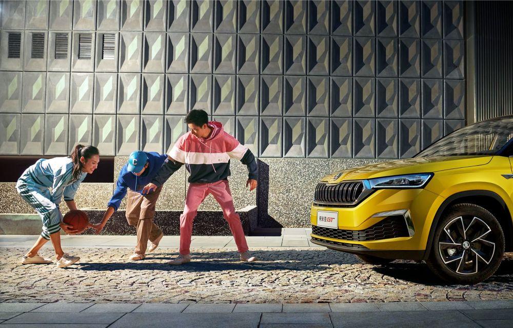 Skoda a lansat Kamiq GT: noul SUV-ul coupe va fi disponibil doar pe piața din China - Poza 14