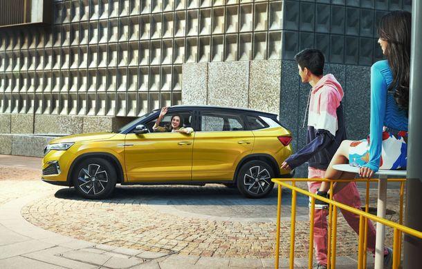 Skoda a lansat Kamiq GT: noul SUV-ul coupe va fi disponibil doar pe piața din China - Poza 12
