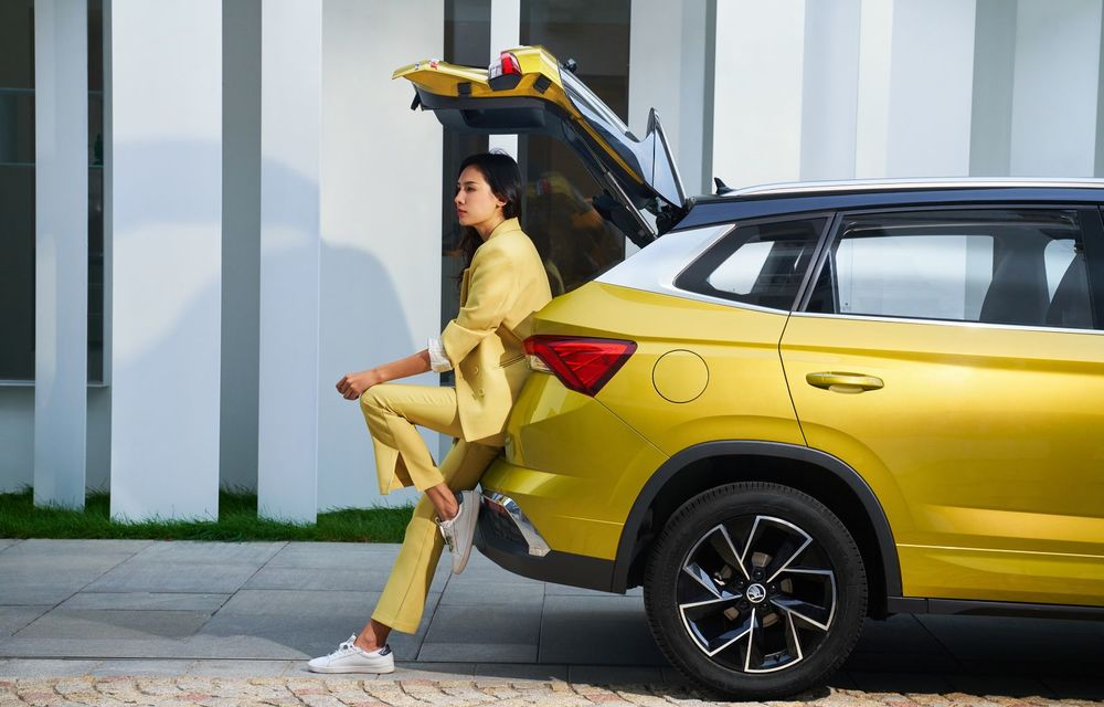 Skoda a lansat Kamiq GT: noul SUV-ul coupe va fi disponibil doar pe piața din China - Poza 9