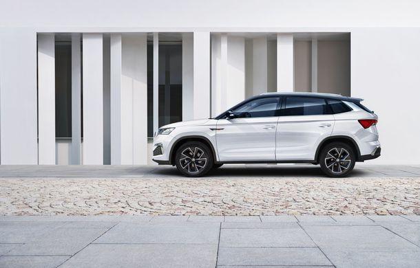 Skoda a lansat Kamiq GT: noul SUV-ul coupe va fi disponibil doar pe piața din China - Poza 6