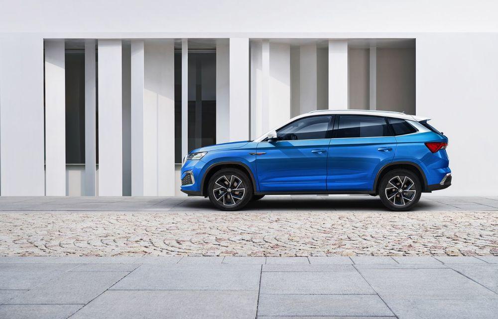 Skoda a lansat Kamiq GT: noul SUV-ul coupe va fi disponibil doar pe piața din China - Poza 7
