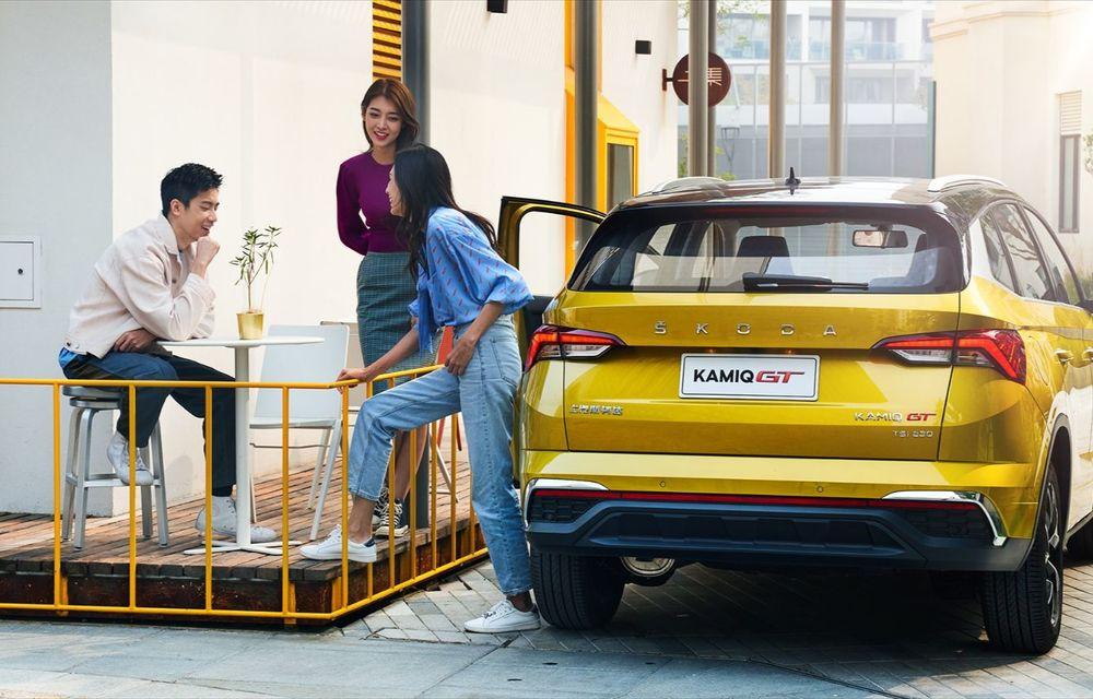Skoda a lansat Kamiq GT: noul SUV-ul coupe va fi disponibil doar pe piața din China - Poza 8