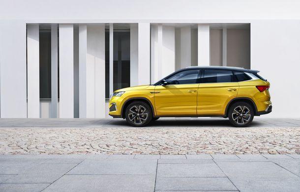 Skoda a lansat Kamiq GT: noul SUV-ul coupe va fi disponibil doar pe piața din China - Poza 5