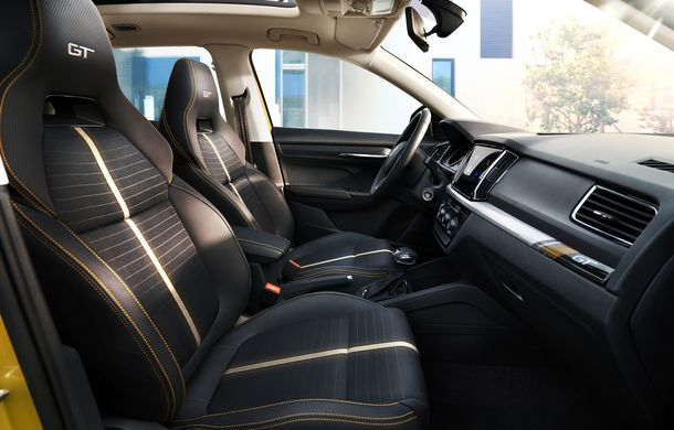 Skoda a lansat Kamiq GT: noul SUV-ul coupe va fi disponibil doar pe piața din China - Poza 18