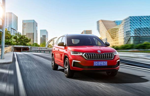 Skoda a lansat Kamiq GT: noul SUV-ul coupe va fi disponibil doar pe piața din China - Poza 3