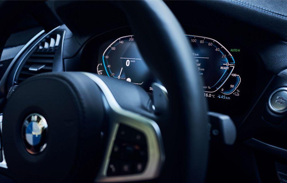 Informații noi despre versiunea plug-in hybrid a SUV-ului BMW X3: 292 de cai putere și autonomie electrică de până la 46 de kilometri - Poza 17