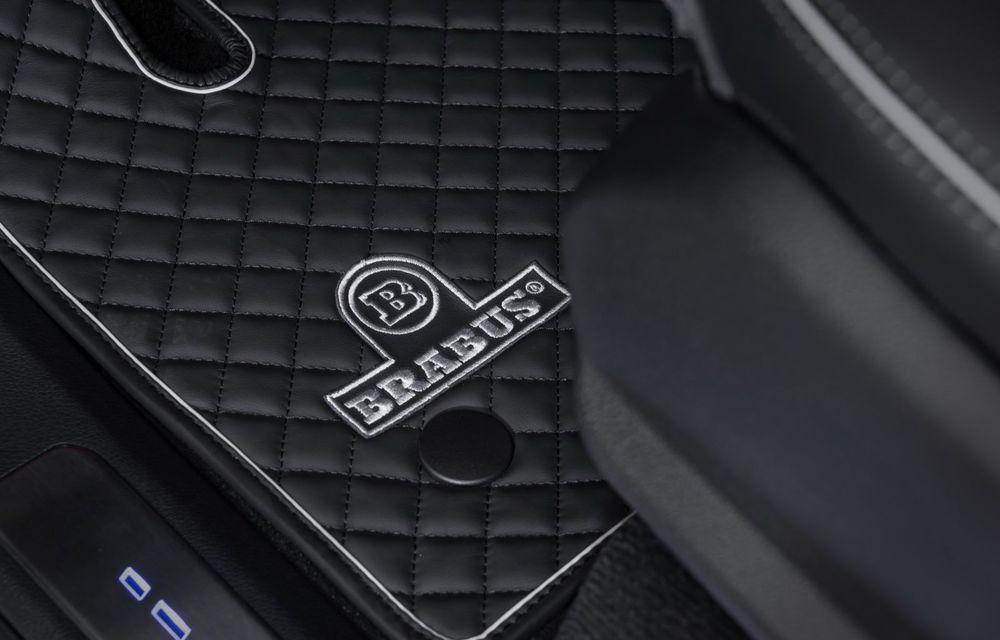 Tratament special pentru Mercedes-Benz Clasa G din partea tunerului Brabus: gardă la sol mai mare cu 40 de milimetri și 330 CP oferiți de motorul diesel de 3.0 litri - Poza 9