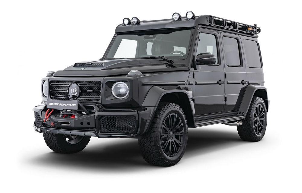 Tratament special pentru Mercedes-Benz Clasa G din partea tunerului Brabus: gardă la sol mai mare cu 40 de milimetri și 330 CP oferiți de motorul diesel de 3.0 litri - Poza 1