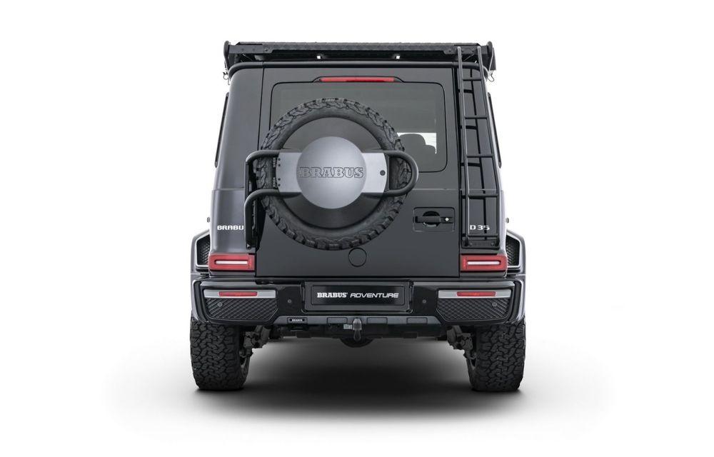 Tratament special pentru Mercedes-Benz Clasa G din partea tunerului Brabus: gardă la sol mai mare cu 40 de milimetri și 330 CP oferiți de motorul diesel de 3.0 litri - Poza 5