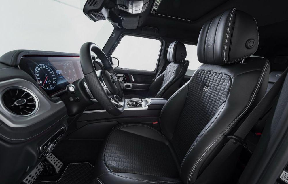 Tratament special pentru Mercedes-Benz Clasa G din partea tunerului Brabus: gardă la sol mai mare cu 40 de milimetri și 330 CP oferiți de motorul diesel de 3.0 litri - Poza 8