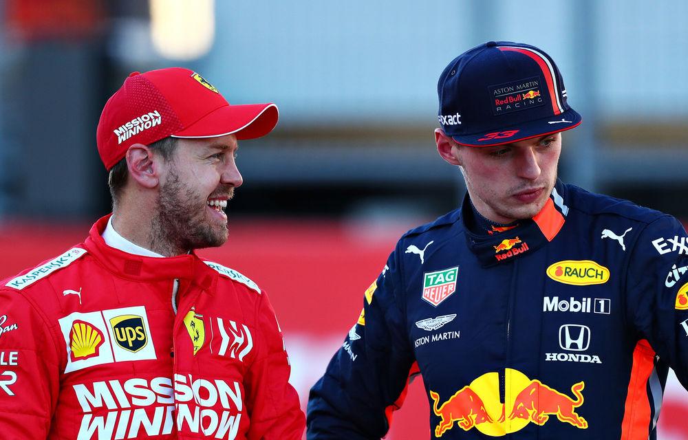 """Verstappen acuză Ferrari că a încălcat regulamentul tehnic: """"Au încetat să trișeze și nu au mai avut performanțe în Statele Unite"""" - Poza 1"""