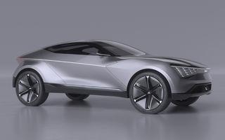 Exercițiu de design: Kia Futuron, un concept electric asiatic pentru un SUV coupe cu sisteme autonome