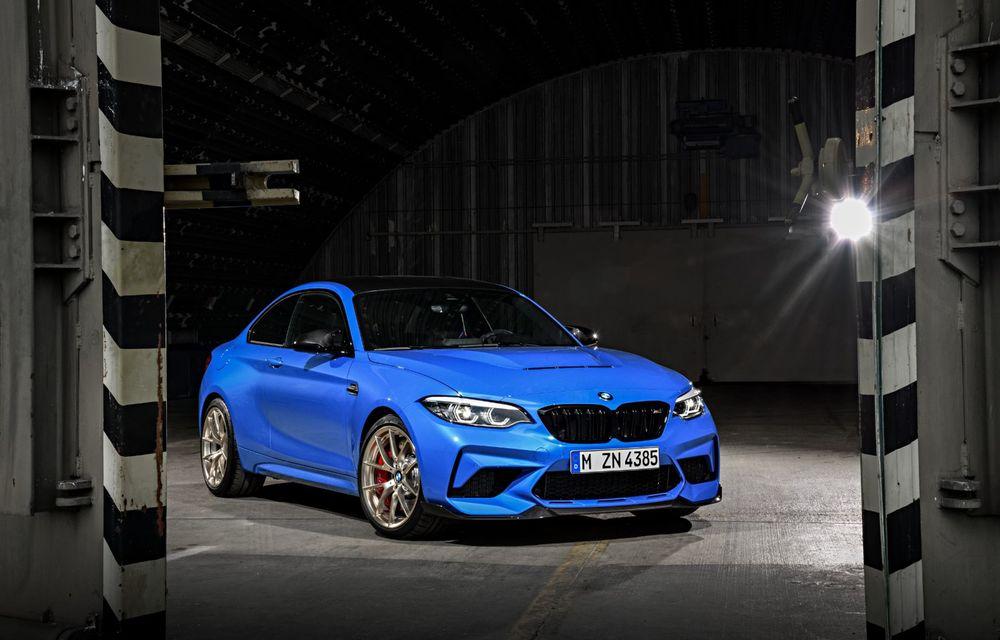 BMW a prezentat noul M2 CS: accesorii de caroserie din fibră de carbon, motor de 3.0 litri cu 450 CP și 4 secunde pentru 0-100 km/h - Poza 5