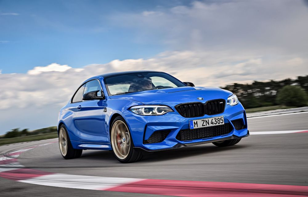 BMW a prezentat noul M2 CS: accesorii de caroserie din fibră de carbon, motor de 3.0 litri cu 450 CP și 4 secunde pentru 0-100 km/h - Poza 38