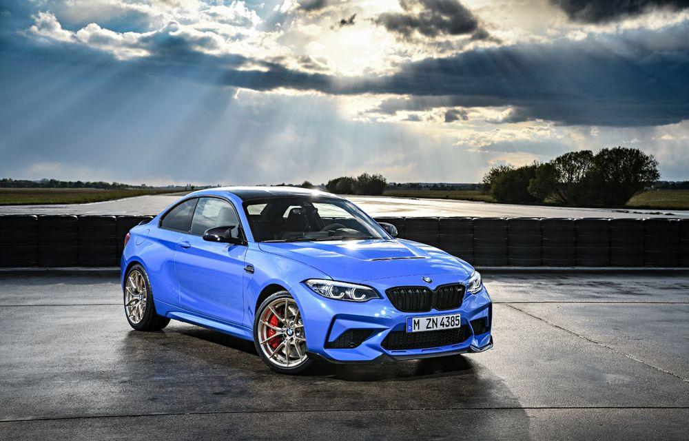 BMW a prezentat noul M2 CS: accesorii de caroserie din fibră de carbon, motor de 3.0 litri cu 450 CP și 4 secunde pentru 0-100 km/h - Poza 23