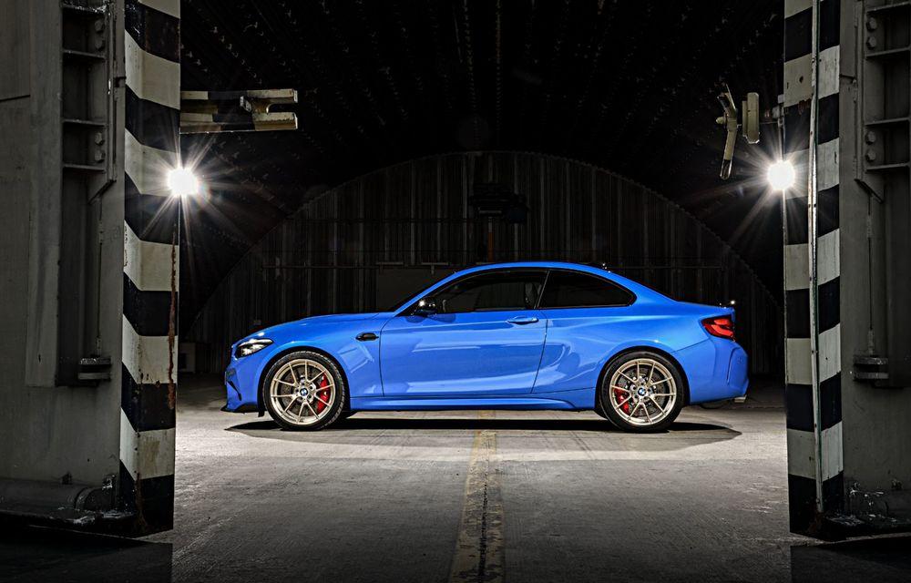 BMW a prezentat noul M2 CS: accesorii de caroserie din fibră de carbon, motor de 3.0 litri cu 450 CP și 4 secunde pentru 0-100 km/h - Poza 10
