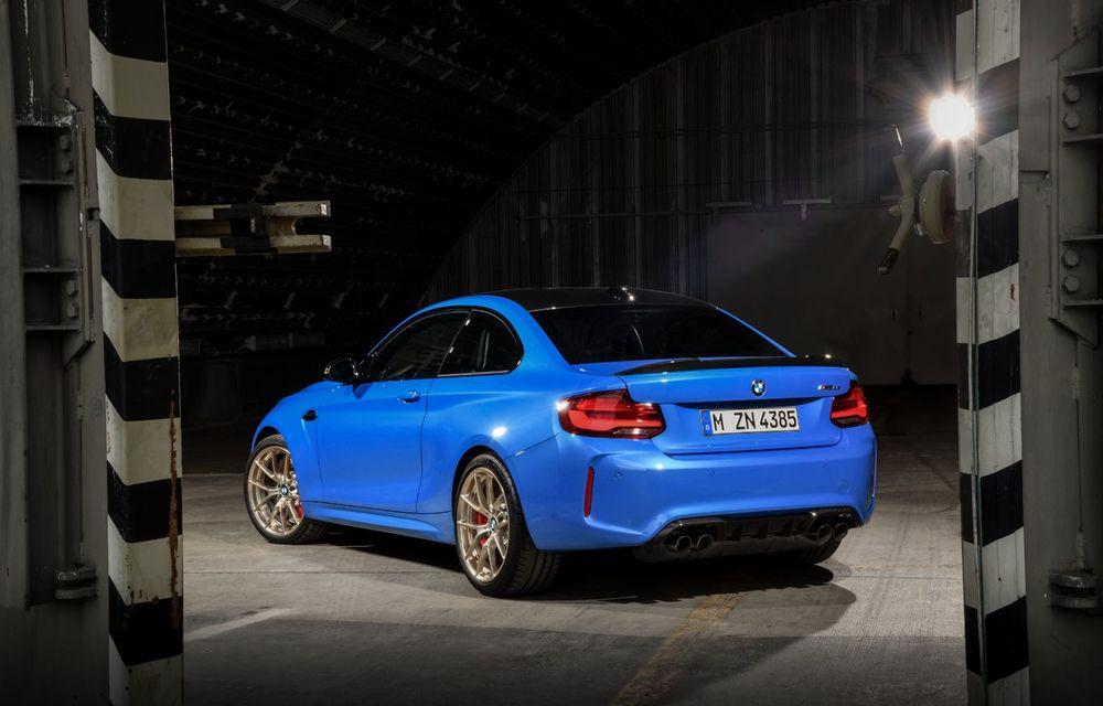 BMW a prezentat noul M2 CS: accesorii de caroserie din fibră de carbon, motor de 3.0 litri cu 450 CP și 4 secunde pentru 0-100 km/h - Poza 8