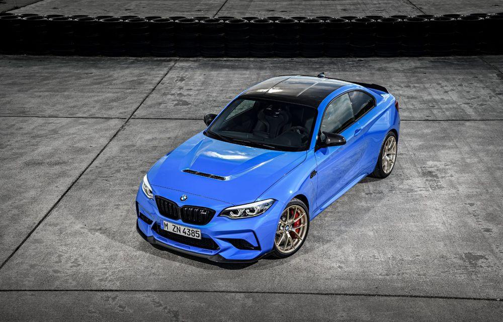 BMW a prezentat noul M2 CS: accesorii de caroserie din fibră de carbon, motor de 3.0 litri cu 450 CP și 4 secunde pentru 0-100 km/h - Poza 20