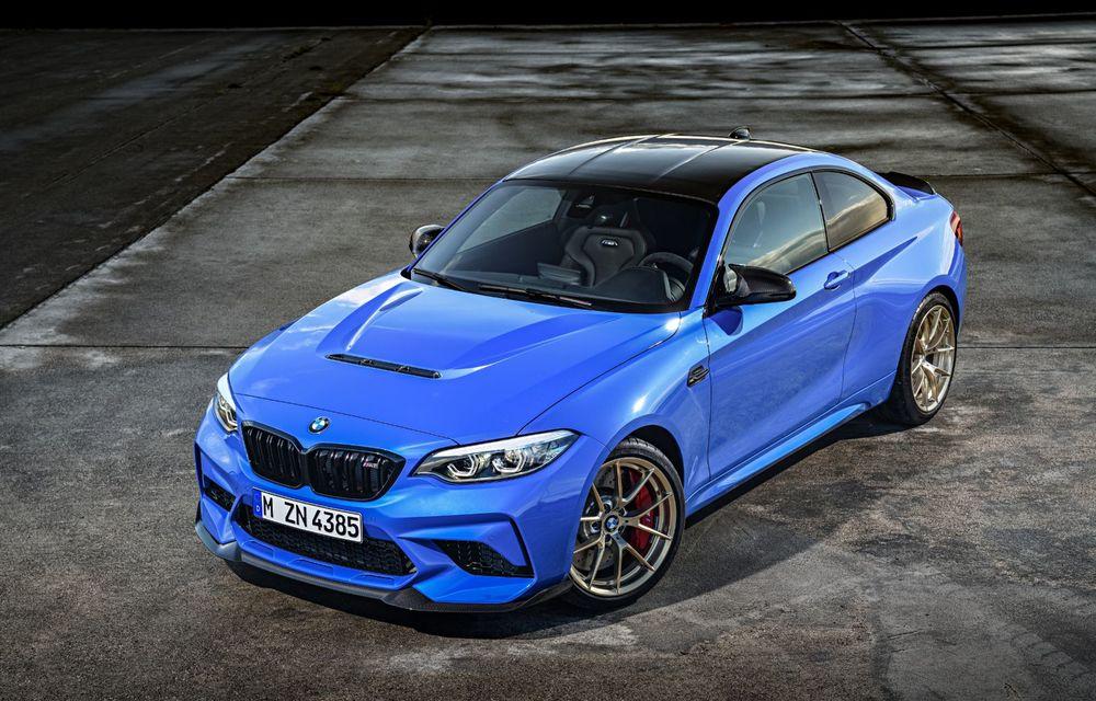 BMW a prezentat noul M2 CS: accesorii de caroserie din fibră de carbon, motor de 3.0 litri cu 450 CP și 4 secunde pentru 0-100 km/h - Poza 21