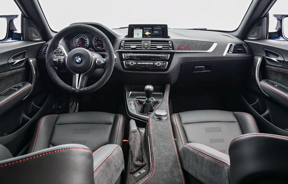 BMW a prezentat noul M2 CS: accesorii de caroserie din fibră de carbon, motor de 3.0 litri cu 450 CP și 4 secunde pentru 0-100 km/h - Poza 65