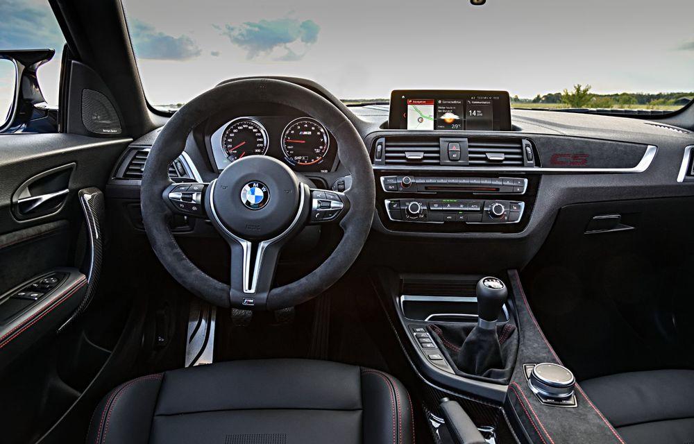 BMW a prezentat noul M2 CS: accesorii de caroserie din fibră de carbon, motor de 3.0 litri cu 450 CP și 4 secunde pentru 0-100 km/h - Poza 70