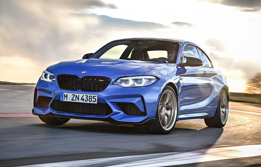 BMW a prezentat noul M2 CS: accesorii de caroserie din fibră de carbon, motor de 3.0 litri cu 450 CP și 4 secunde pentru 0-100 km/h - Poza 1