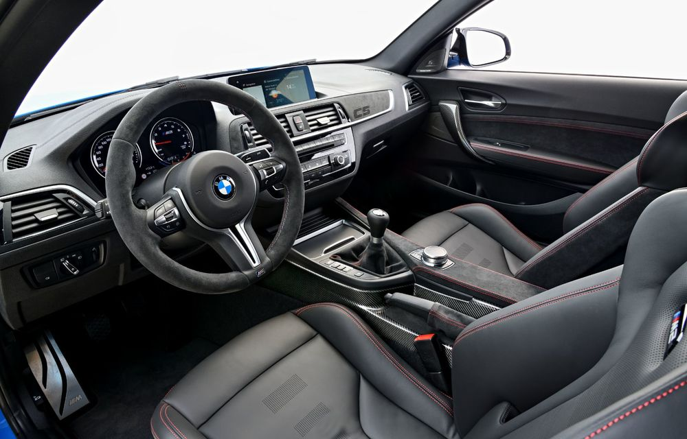 BMW a prezentat noul M2 CS: accesorii de caroserie din fibră de carbon, motor de 3.0 litri cu 450 CP și 4 secunde pentru 0-100 km/h - Poza 68