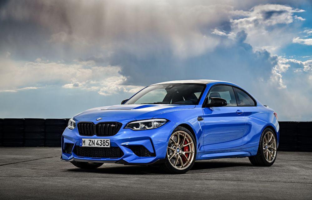 BMW a prezentat noul M2 CS: accesorii de caroserie din fibră de carbon, motor de 3.0 litri cu 450 CP și 4 secunde pentru 0-100 km/h - Poza 14