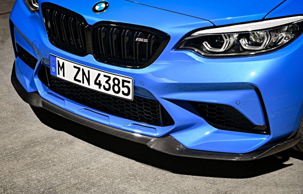 BMW a prezentat noul M2 CS: accesorii de caroserie din fibră de carbon, motor de 3.0 litri cu 450 CP și 4 secunde pentru 0-100 km/h - Poza 48