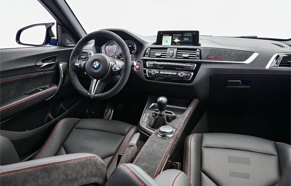 BMW a prezentat noul M2 CS: accesorii de caroserie din fibră de carbon, motor de 3.0 litri cu 450 CP și 4 secunde pentru 0-100 km/h - Poza 67