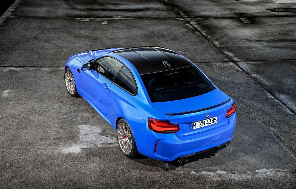 BMW a prezentat noul M2 CS: accesorii de caroserie din fibră de carbon, motor de 3.0 litri cu 450 CP și 4 secunde pentru 0-100 km/h - Poza 27