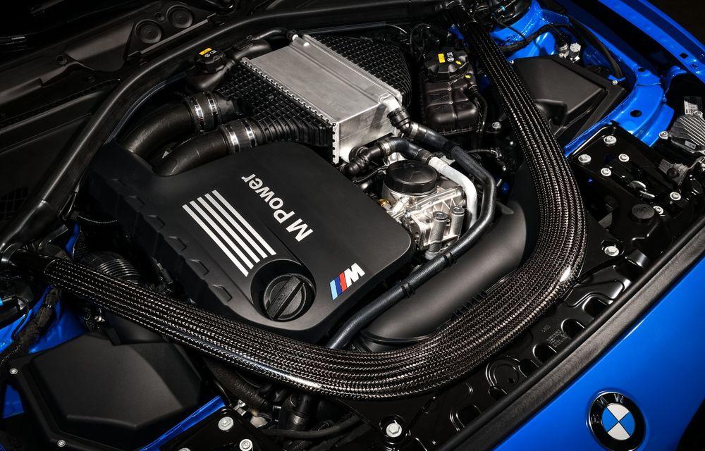 BMW a prezentat noul M2 CS: accesorii de caroserie din fibră de carbon, motor de 3.0 litri cu 450 CP și 4 secunde pentru 0-100 km/h - Poza 82